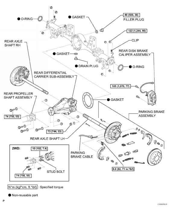 Toyota Differential Diagram
