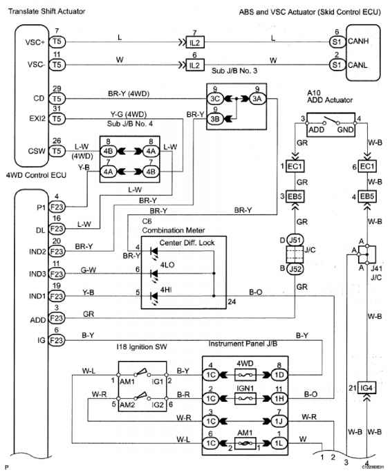 1867_1424_425 2006 toyota differential diagram continuity reference toyota sequoia 2007 repair toyota sequoia wiring diagram at n-0.co