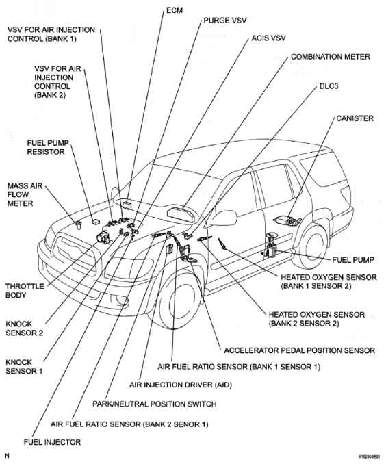 2007 toyota sequoia parts diagram  u2022 wiring diagram for free