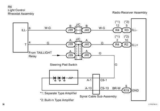 Cable Illumination Circuit Description