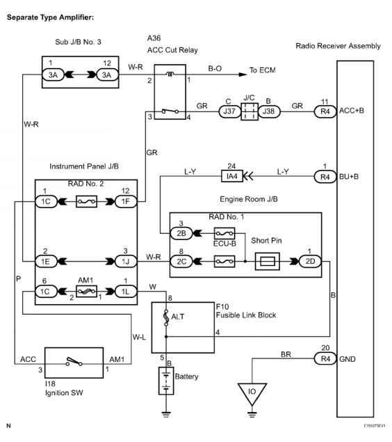 Tacoma Stereo Wiring Diagram