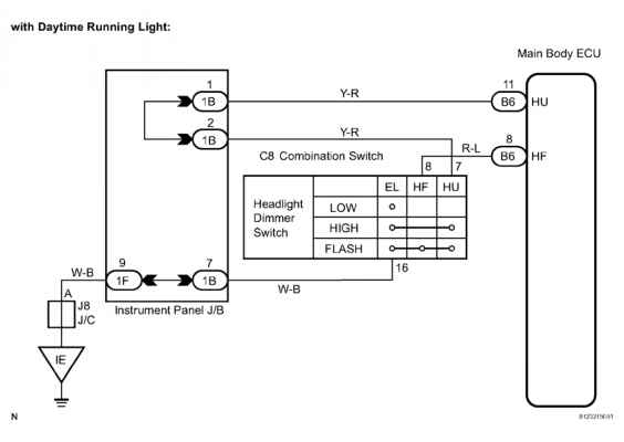 Toyota Headlight Switch Wiring Diagram : Sequoia headlight wiring connector diagram toyota