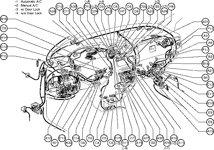 Position Of Parts In Engine  partment on 2001 sienna oil control