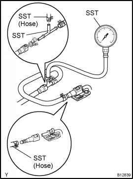 Fuel Pressure Test Camry