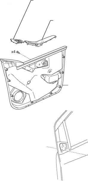 outer rear view mirror for hatchback components