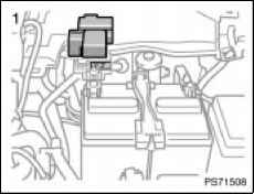 Toyota Yaris Battery Fuse Link