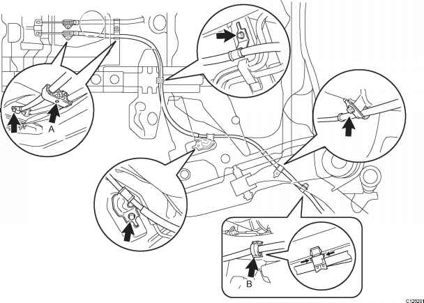removal - toyota yaris manual