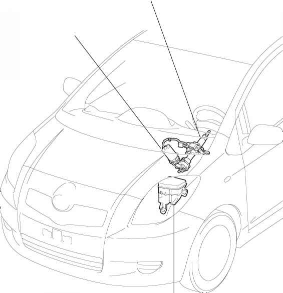 Parts Location on toyota yaris ecu wiring diagram