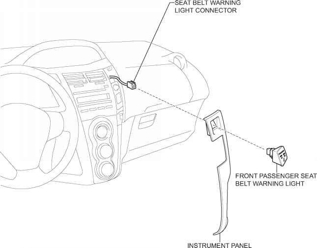 components - toyota yaris manual