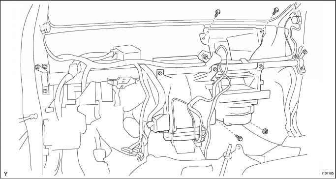 remove instrument panel reinforcement